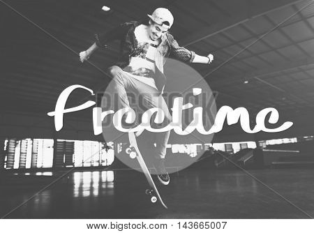 Freetime Hobbies Interest Leisure Concept poster