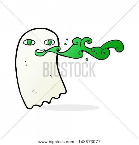 cartoon gross ghost