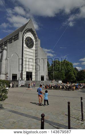 The Notre Dame De La Treille Church