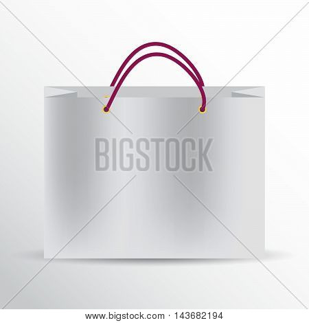Vector pack for the store. Template mockups. Mock up shopping. 3D shopping bag