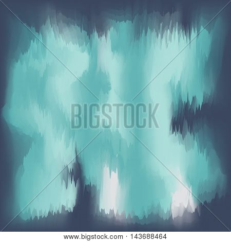 abstract vector background in dark green colors