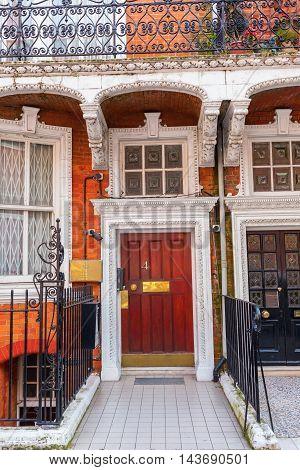 Building Of The Embassy Of Azerbaijan In London
