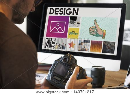 Computer Camera Style Design Concept