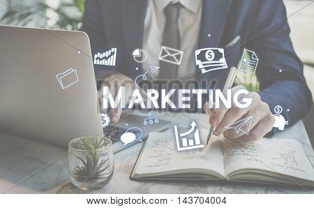 Marketing Business Advertising Commercial Branding Concept