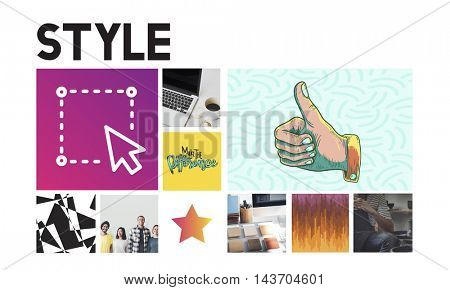 Design Creation Graphic Innovation Concept