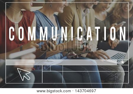 Chat Communication Blog Webpage Website Concept