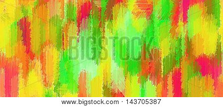 yellow red and green painting texture abstract background
