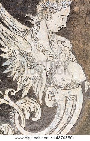 Facade Detail Of The Palazzo Della Carovana, Pisa