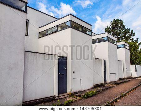 Weissenhof Siedlung In Stuttgart (hdr)