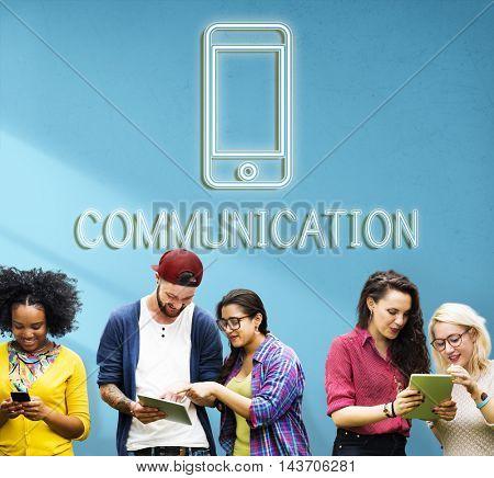 Communication Connection Internet Graphic Concept