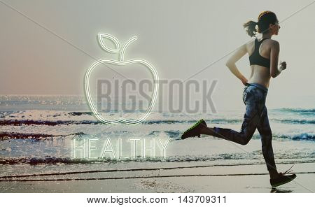Healthy Lifestyle Sport Running Concept