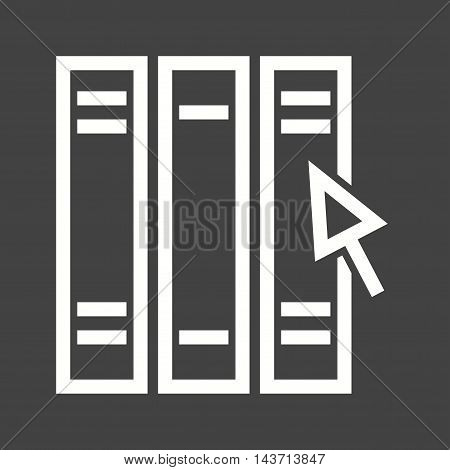 Computer, file, online icon vector image. Can also be used for E Learning. Suitable for mobile apps, web apps and print media.