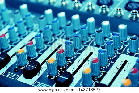Audio Mixer, Music Equipment