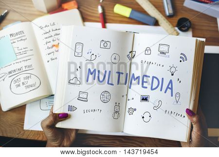 Communication Connection Internet Multimedia Technology Concept