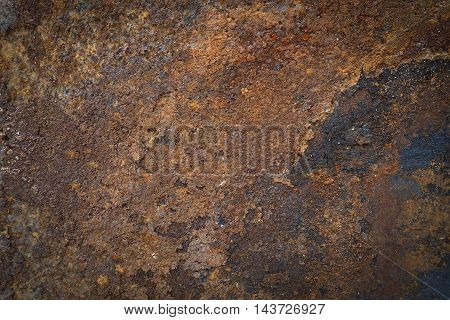 Rusty Metal Texture Background, Dirty metal background.