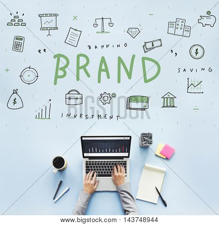 Marketing Brand Commercial Strategy Business Concept