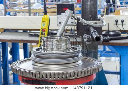 Maintenance Of Airplane's Engine - Combustor