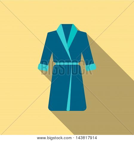 Bathrobe icon of vector illustration for web and mobile design poster