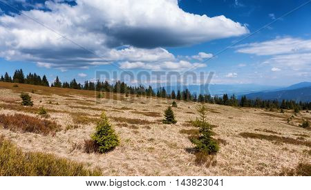 Janosikova kolaren - national reservation in Great Fatra range Slovakia