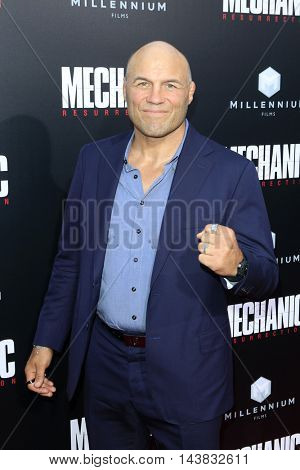 LOS ANGELES - AUG 22:  Randy Couture at the