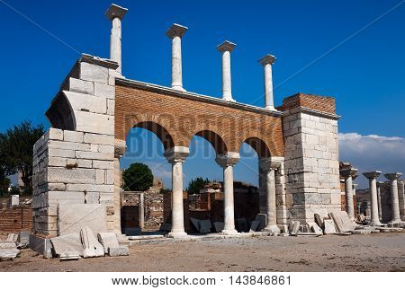 Church of Saint John in Selcuk. Turkey
