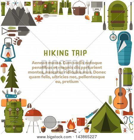 Hiking Trip Background