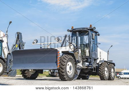 The New Grader Parked