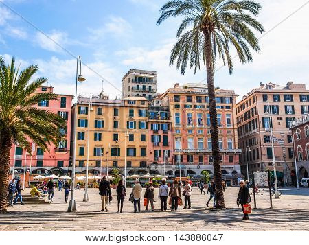 Genoa Italy (hdr)