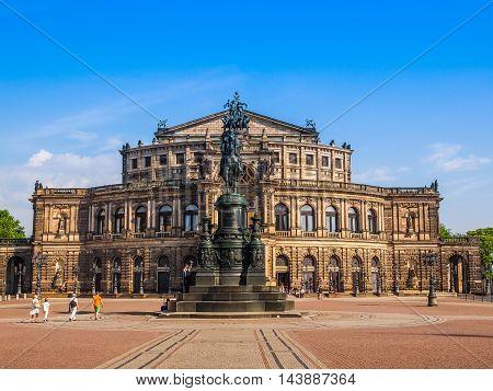 Dresden Semperoper (hdr)