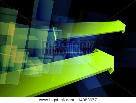 Abstract Arrows Background Original Vector Illustration EPS10 poster