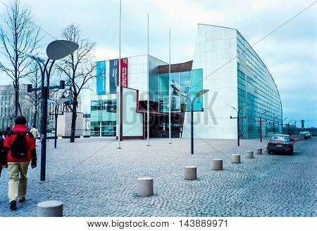 Kiasma Museum In Helsinki (hdr)