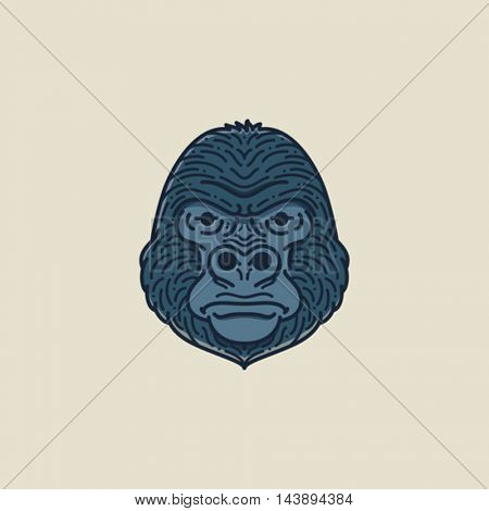 Gorilla Flat illustration