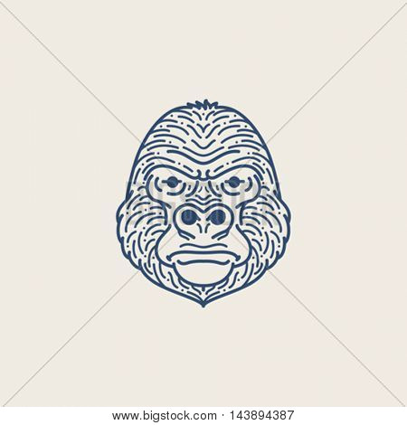Gorilla Line illustration