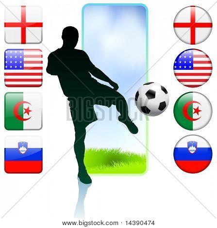 Soccer/Football Group C Original Vector Illustration