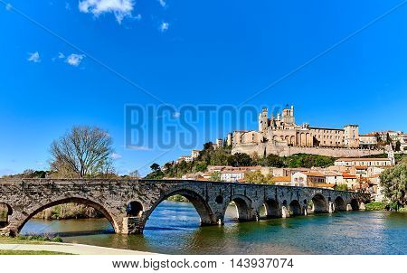 Beziers Town, France