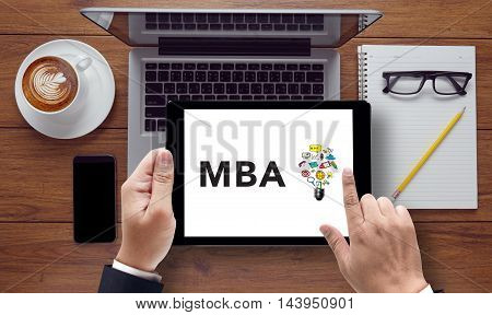 Talking Communication Mba Concept