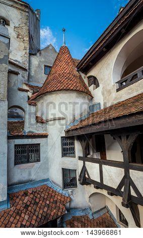 Bran Castle known as Dracula's Castle near Bran in Romania