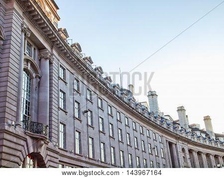 Regents Street, London Hdr