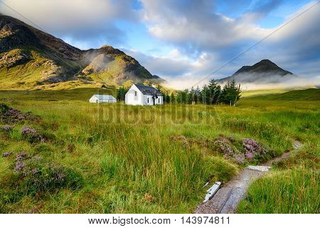Remote Mountain Cottage