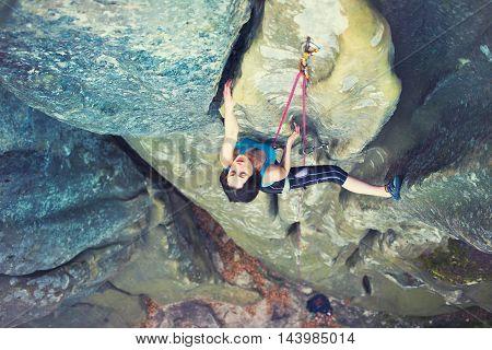 Girl Mountain Climber.