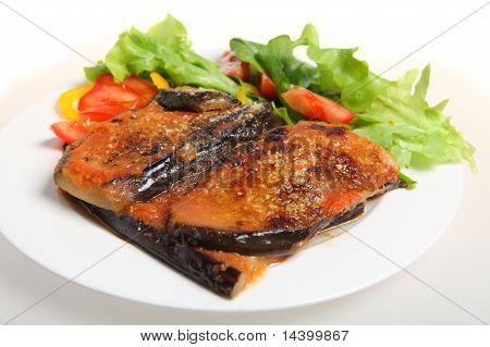 Eggplant Parmigiana Meal