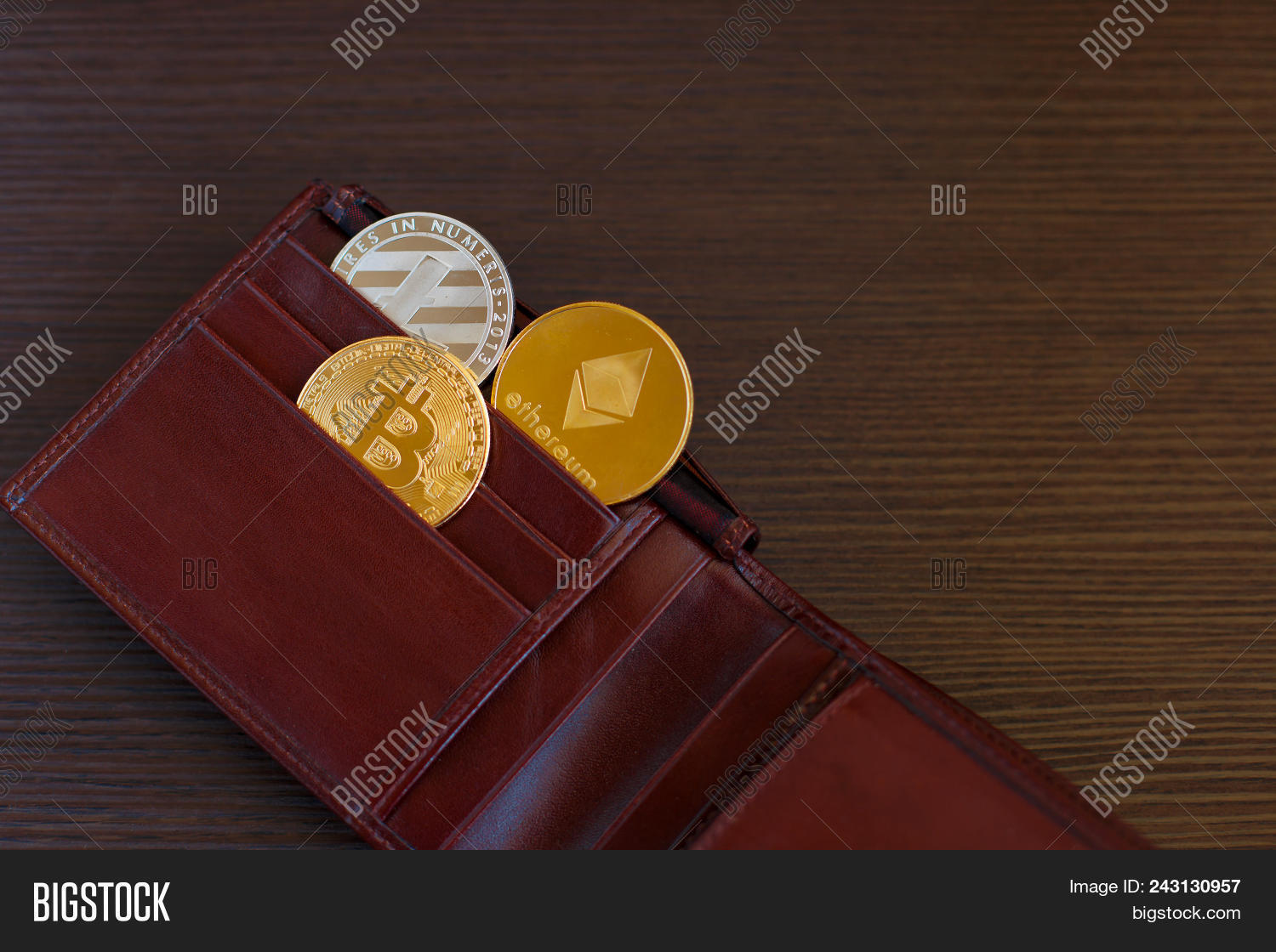Crypto Currency Coin Image & Photo (Free Trial) | Bigstock