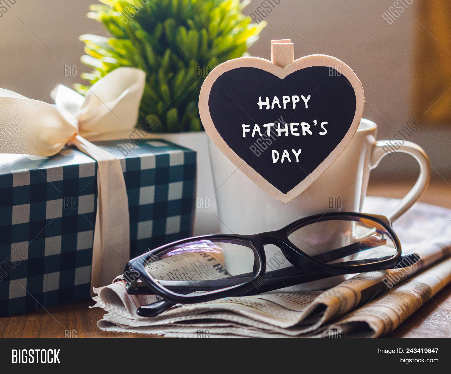 Happy Fathers Day Image Photo Free Trial Bigstock