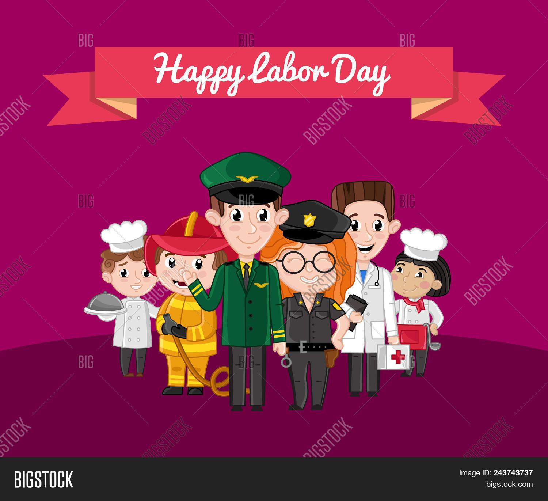 Happy Labor Day Image Photo Free Trial Bigstock