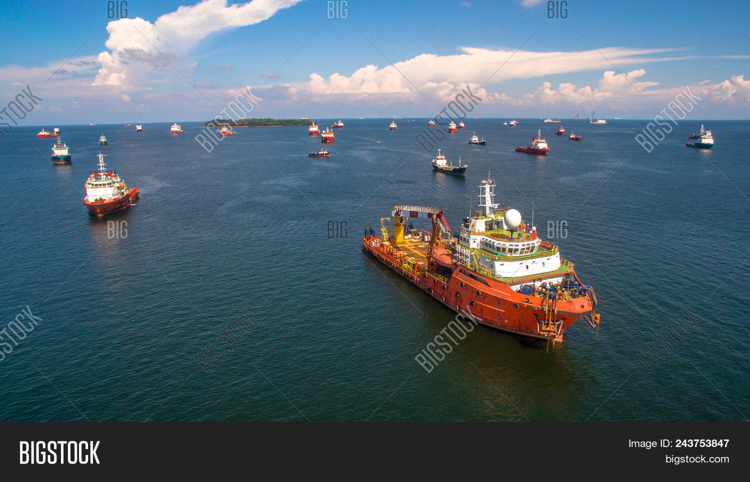 Offshore Oil Gas Image & Photo (Free Trial) | Bigstock