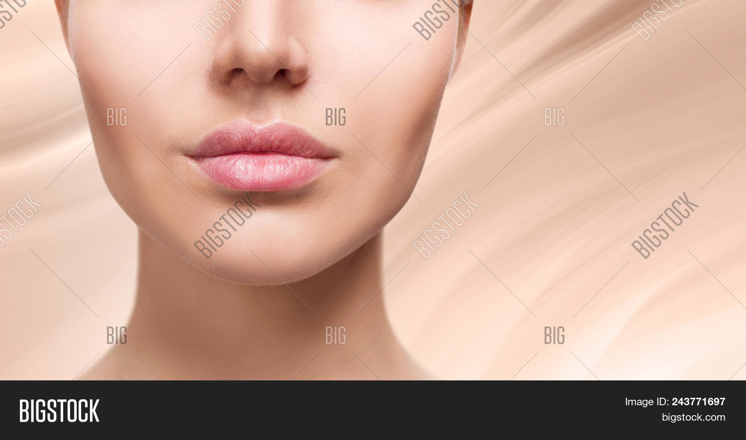 perfect natural lips image photo free trial bigstock