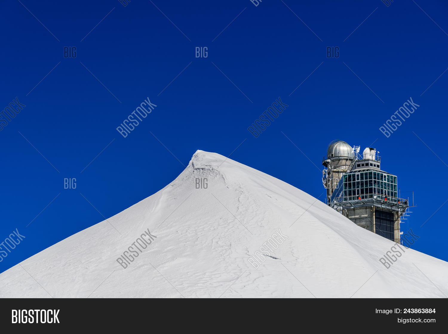 Sphinx Observatory Top Image & Photo (Free Trial) | Bigstock