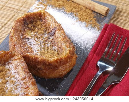 Torrijas - French Toast  Torrijas Are The Spanish Version Of French Toast. Slices Of Bread Soaked In
