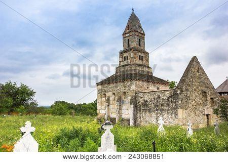 Historic Orthodox Densus Church Near Hunedoara, Romania