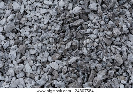 Pile Of Gravel Texture On Road Background Image